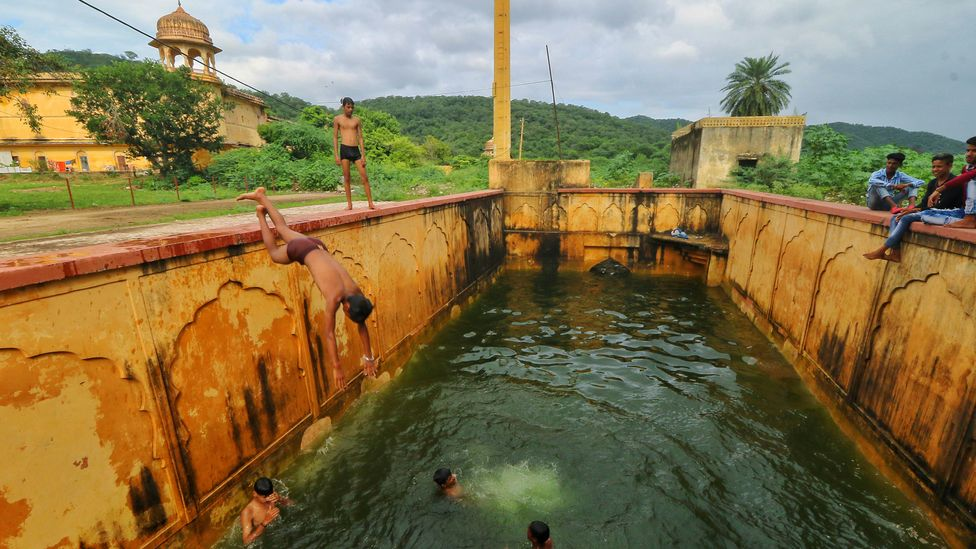 Stepwells are not just useful for water storage but form an important focal point of communities and their heritage (Credit: Vishal Bhatnagar/Getty Images)