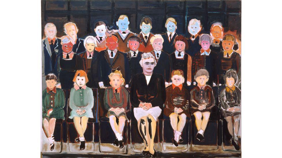 The Teacher (Sub A) (1987) by Marlene Dumas (Credit: Marlene Dumas/Photo: Peter Cox, Eindhoven)