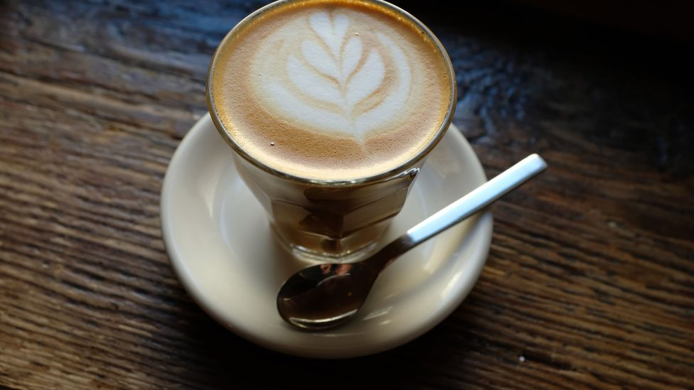 A flat white coffee (Credit: Sean Gallup/Getty Images)