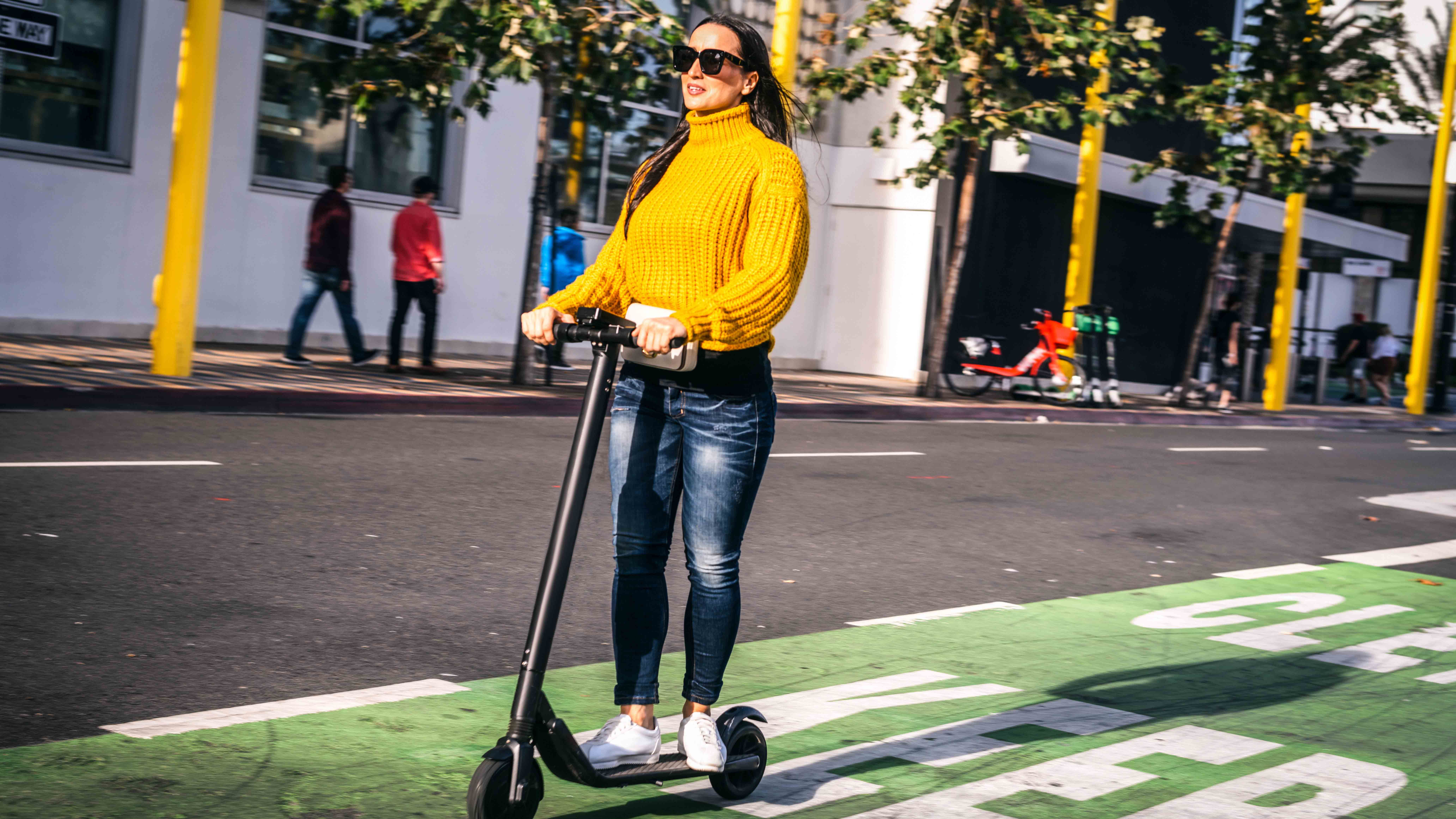 Electric scooters are loved by some, abhorred by others - and they are not quite as green as their image (Credit: Getty Images)