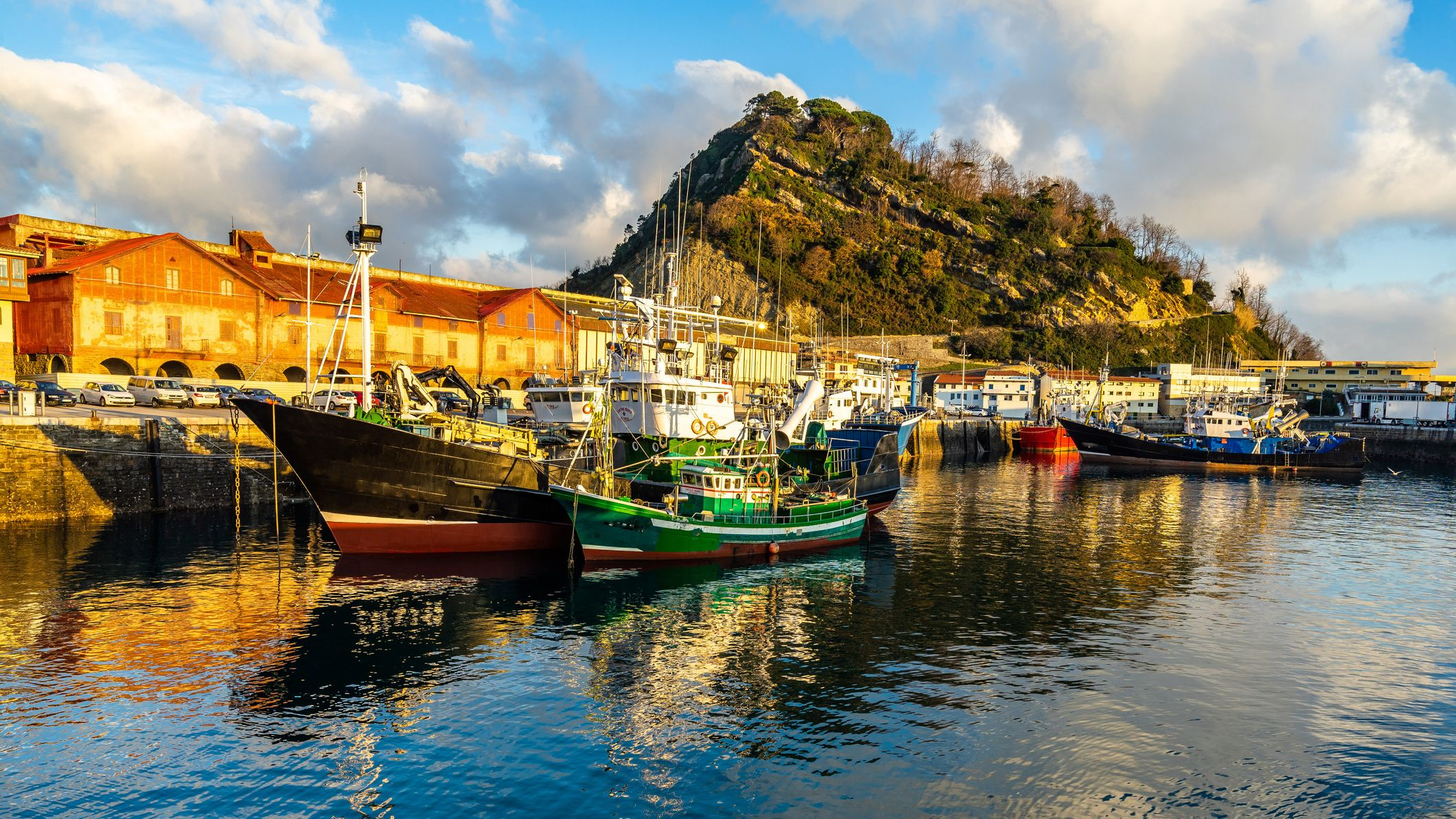 Getaria is home to Restaurante Elkano, currently ranked 30th best restaurant in the world (Credit: Font83/Getty Images)