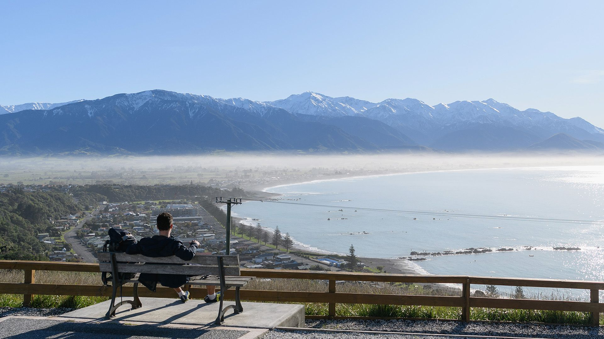 The New Zealand town of Kaikoura is one of many that relies on tourism – an extra holiday could provide a boost from domestic visitors (Credit: Getty Images)