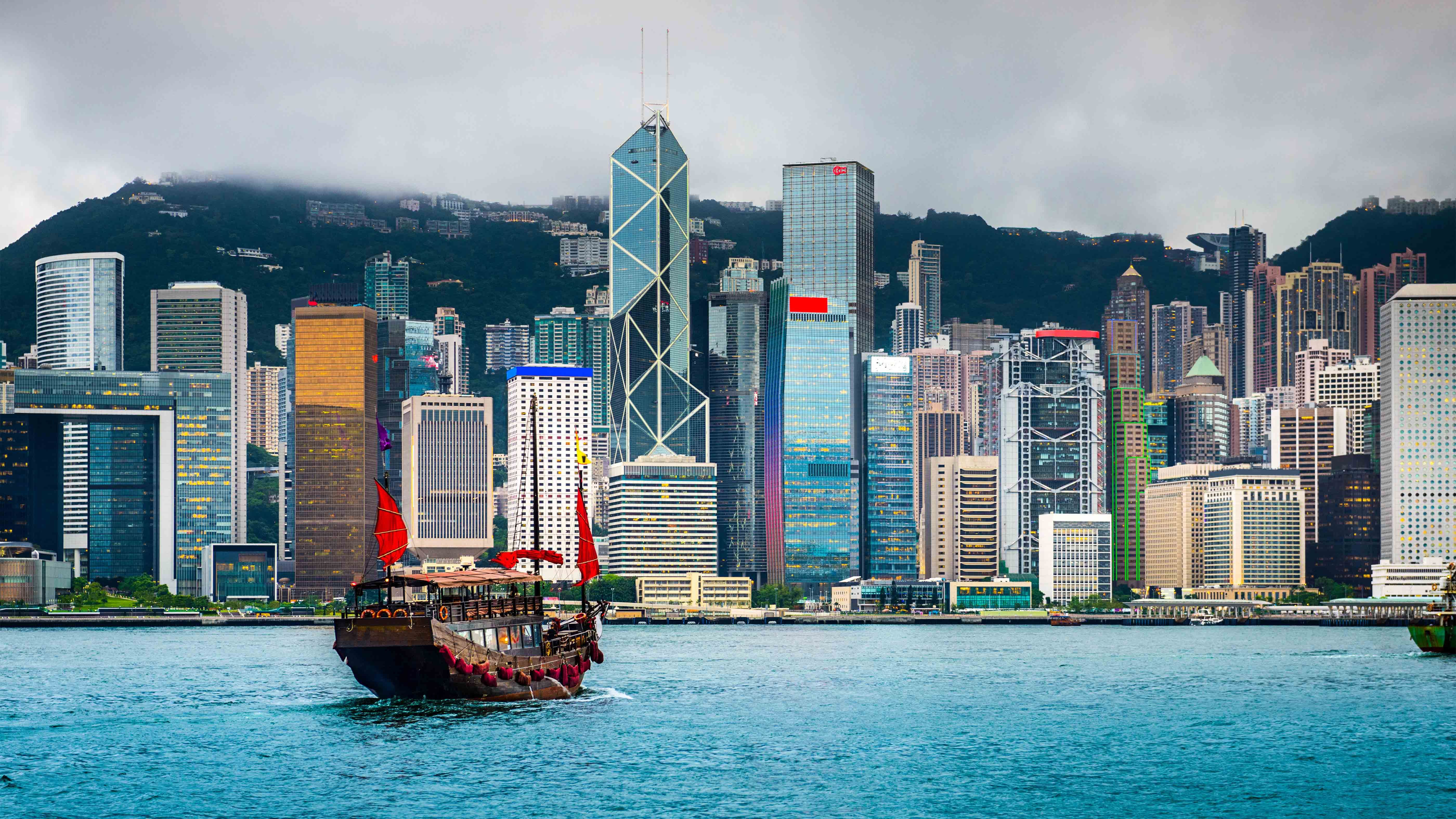 Today Hong Kong's Victoria Harbour is pristine compared with its historic pollution levels (Credit: Alamy)