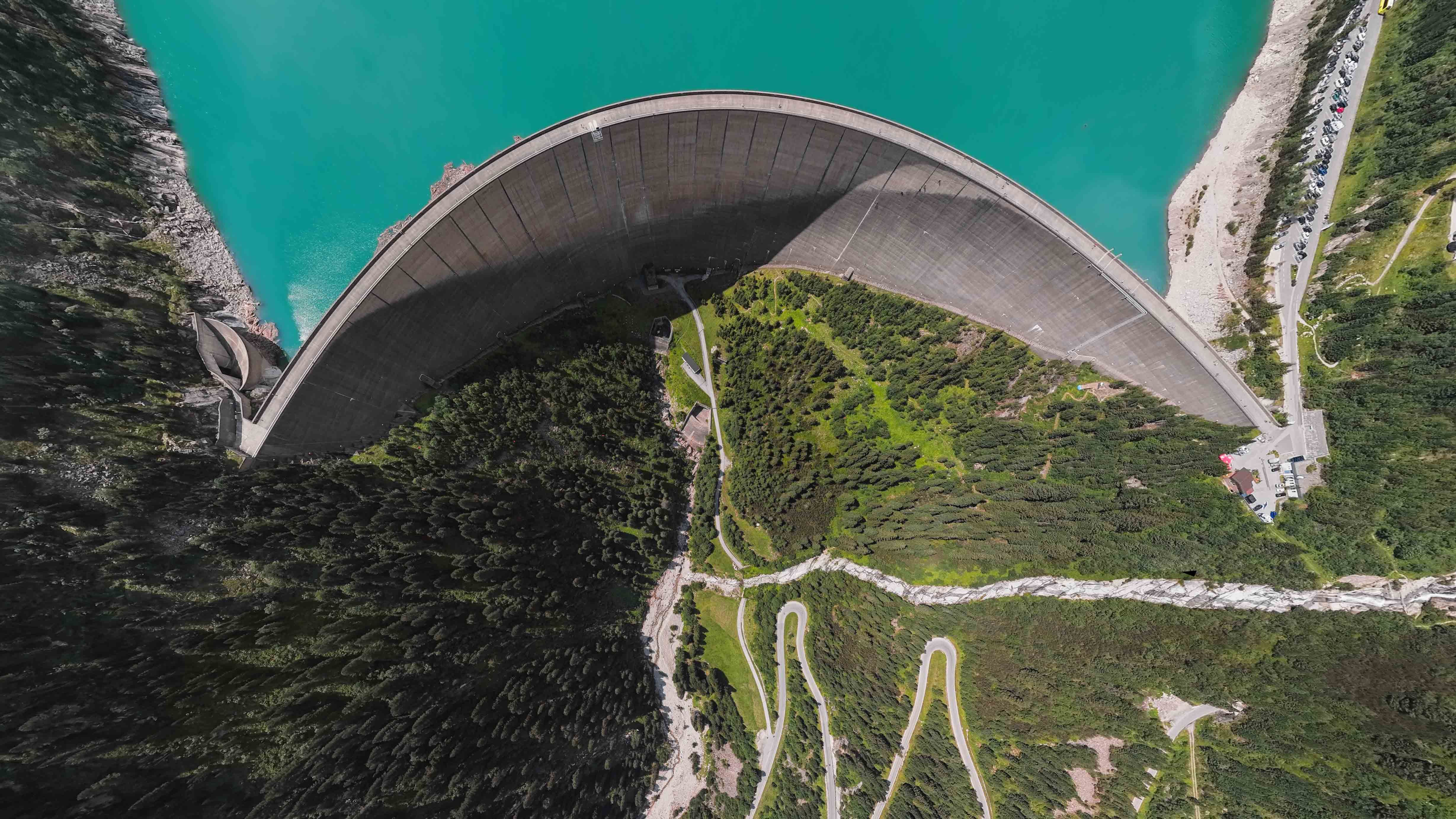 Large traditional dams can provide an abundance of clean energy, but they profoundly alter a region's water table and watercourse (Credit: Getty Images)