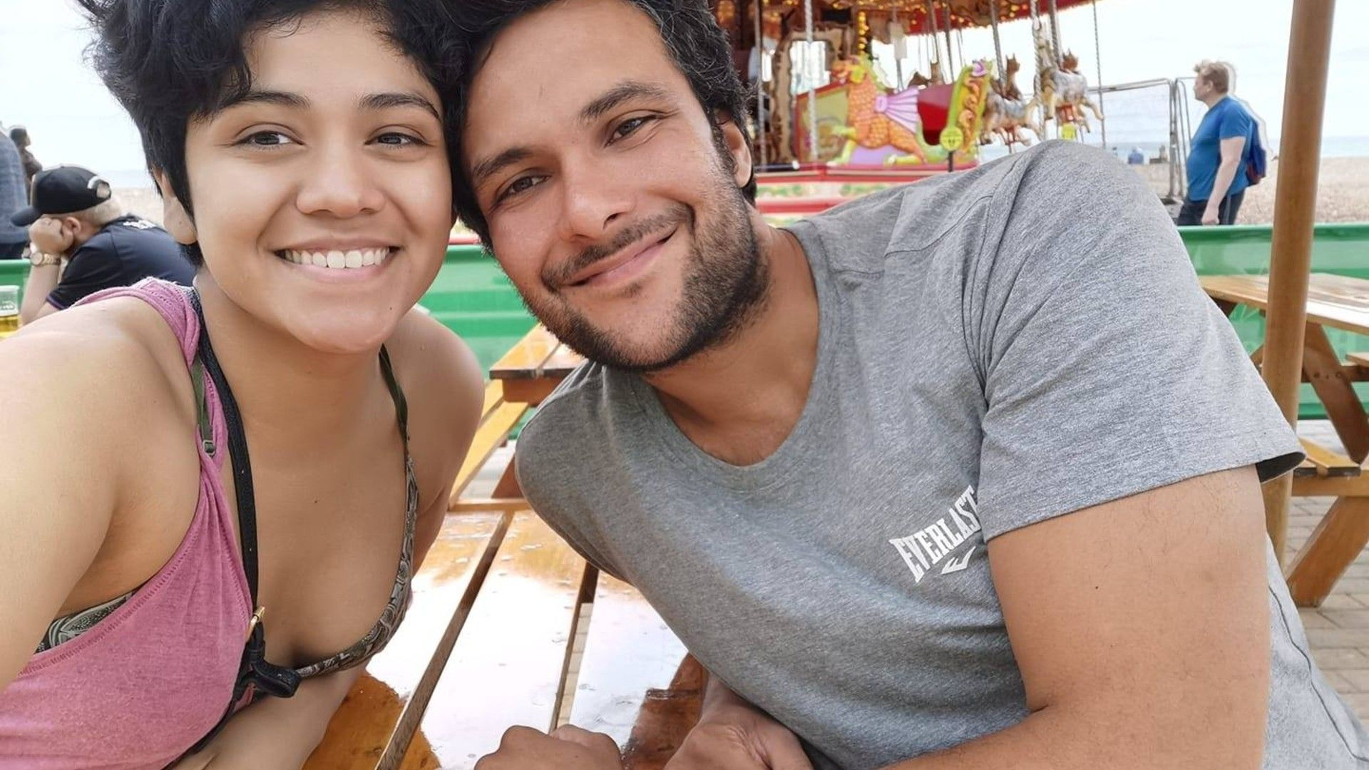 Jai Andrews and Karen Mendoza now plan to make a long-distance relationship work, after meeting via video chat