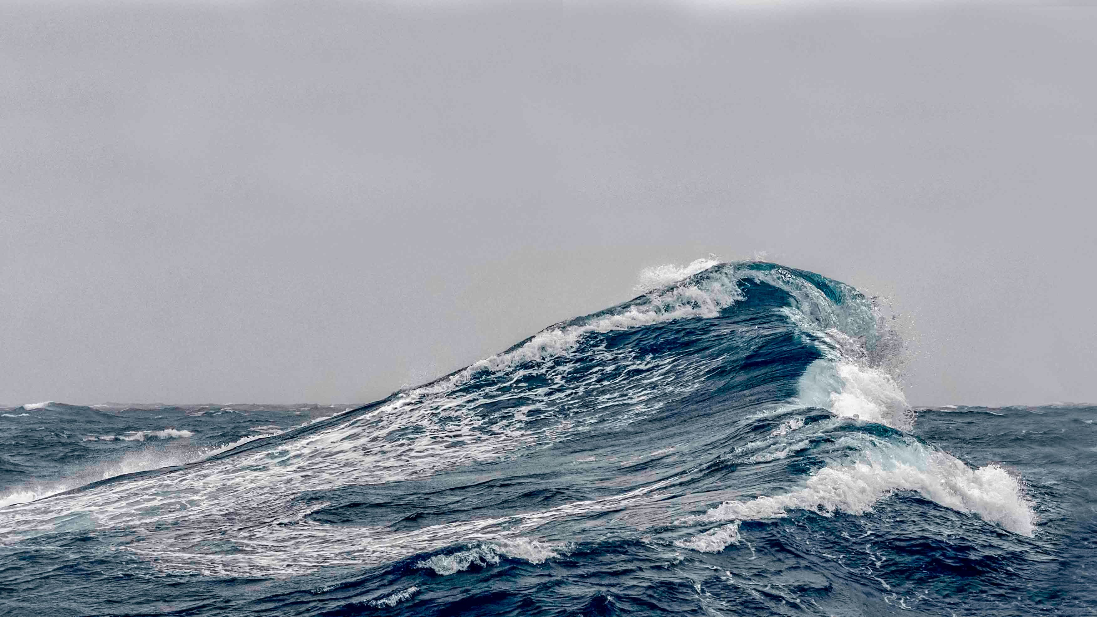 Waves are extraordinarily powerful - what if a ship could draw power from the waves to move, rather than fight against them? (Credit: Getty Images)