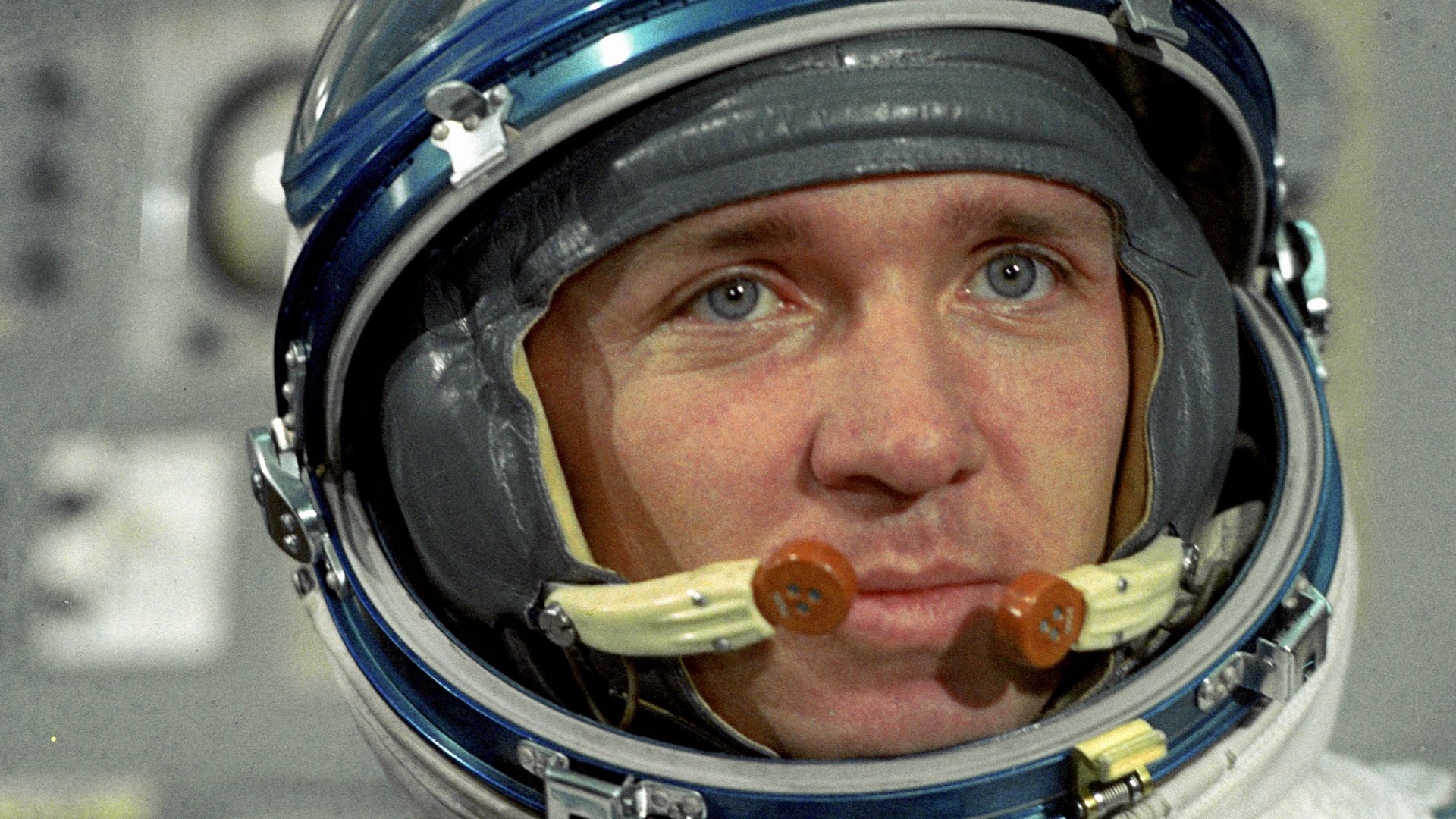 The cosmonaut Valentin Lebedev in 1982 (Credit: Alamy)