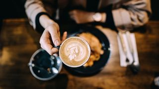 People who consume coffee regularly often have higher blood pressure – but it doesn't seem to increase their risk of cardiovascular disease (Credit: Getty Images)
