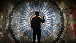 The Large Hadron Collider would have seemed incomprehensibly vast and complicated to our ancestors (Credit: Getty Images)