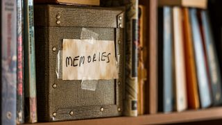 "Box with ""memories"" tag (Credit: Jan Hakan Dahlstrom)"