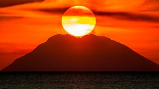 Some of Italy's most famous offshore volcanoes make up the Aeolian islands, including Stromboli. But there are potent volcanoes that lie beneath the sea too (Credit: Getty Images)
